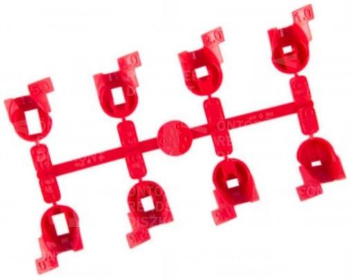 Fúvókakészlet PGJ szórófejekhez, piros (normál)