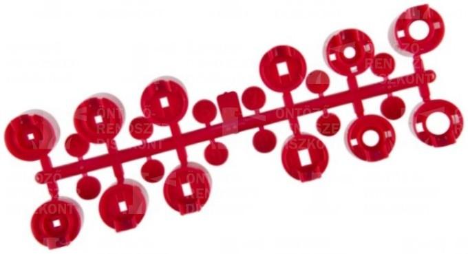 Fúvókakészlet PGP szórófejekhez, piros (normál)