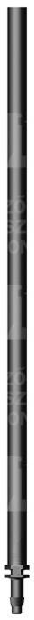 Kiemelő pálca mikroszóróhoz, 45 cm, tüske
