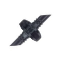 Mikrocső összekötő 4 mm, menetes