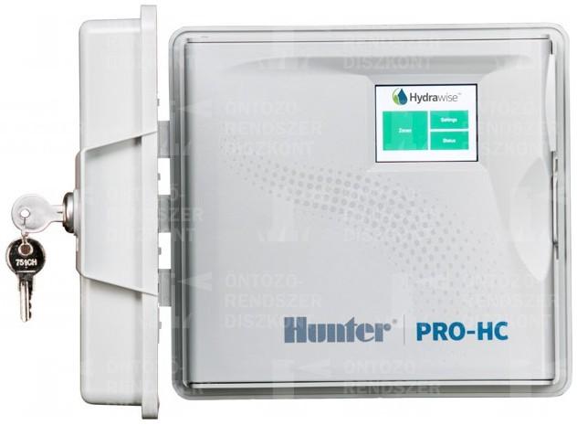 PRO-HC Wi-Fi öntözésvezérlő, 24 zóna, kültéri