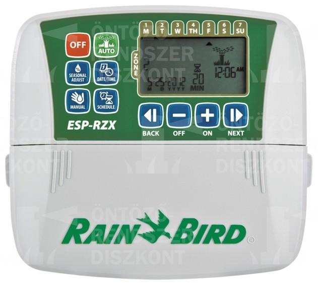 ESP-RZX 6-zónás beltéri öntözésvezérlő, Rain Bird