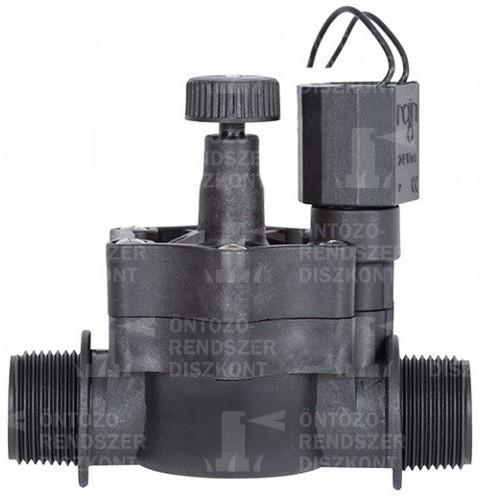 """Rain EV-155 PLUS mágnesszelep 1""""×1"""" KK, 24 V"""