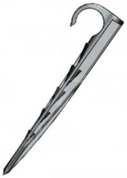 Leszúró tüske csepegtető csőhöz, 16-20 mm, erősíte