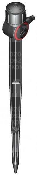 Pálcás szórófej (sugaras), 360°, PC, 30 l/h