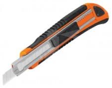 Truper törhető pengés kés 9 mm, 3 tartalék penge