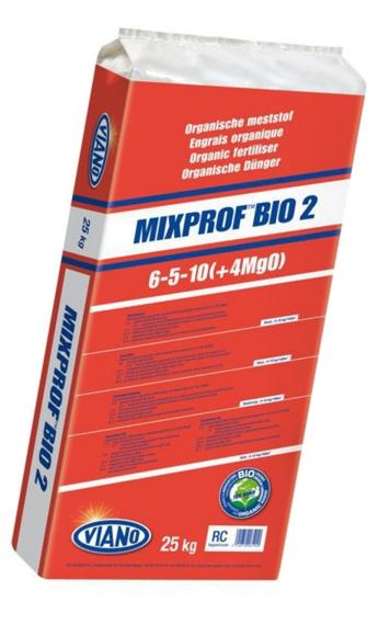 Viano MIXPROF BIO2 szerves táp 6-5-10, 25 kg