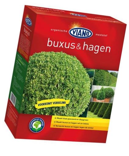 Viano szerves ÖRÖKZÖLD és BUXUS növénytáp, 1,75 kg