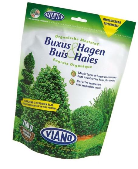 Viano szerves ÖRÖKZÖLD és BUXUS növénytáp, 0,75 kg