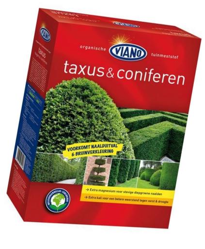 Viano szerves ÖRÖKZÖLD és TISZAFA növénytáp, 4 kg